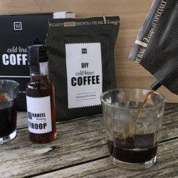 Koffie cadeaupakket met kaneel siroop