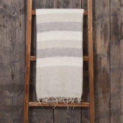 plaid sjaal met verhaal gestreept fairtrade