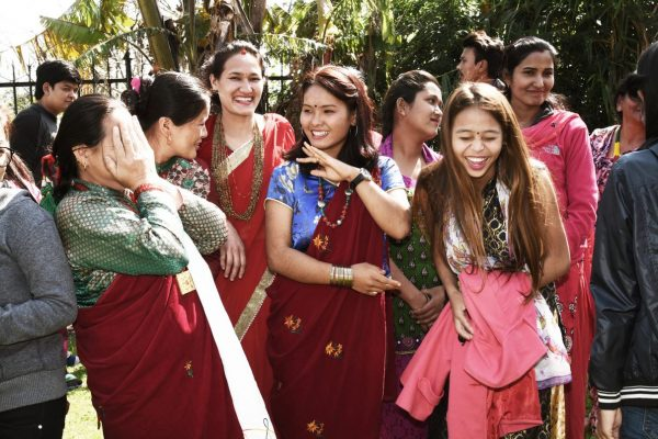 Dames Nepal blij a beautiful story