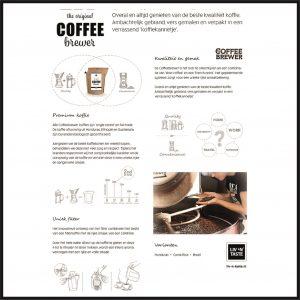 gebruiksaanwijzing coffeebrewer