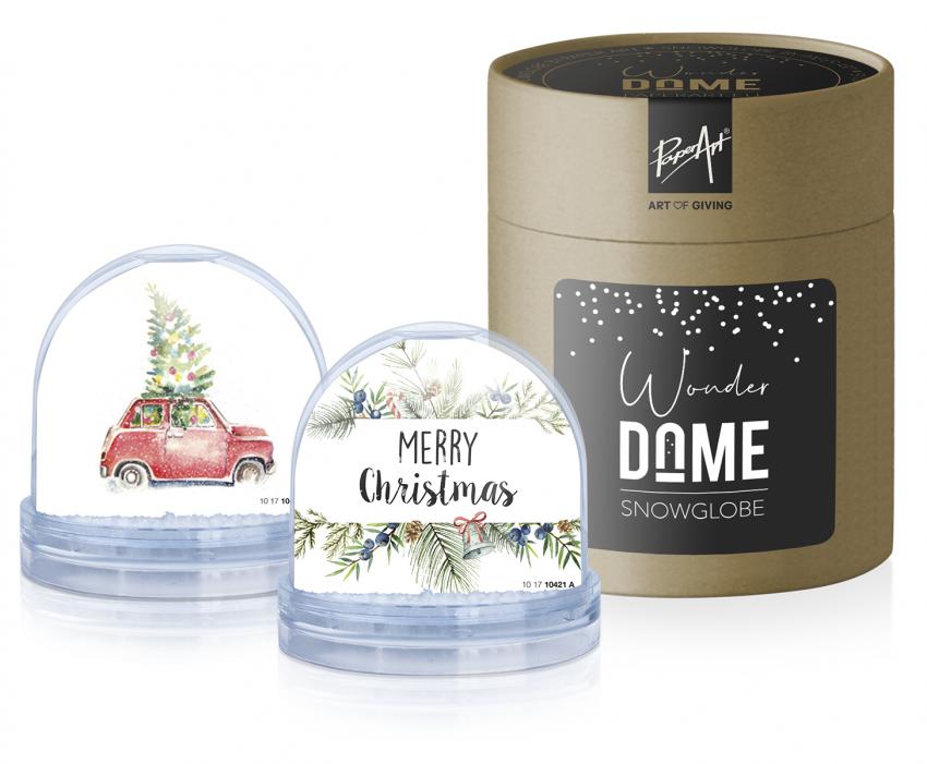 waterbal of sneeuwbal met kerstwens kerstcadeau kerstpakket geschenk purelabels