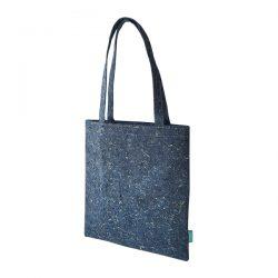 tas in jeansblauw fairtrade gemaakt van afgedankte spijkerbroeken
