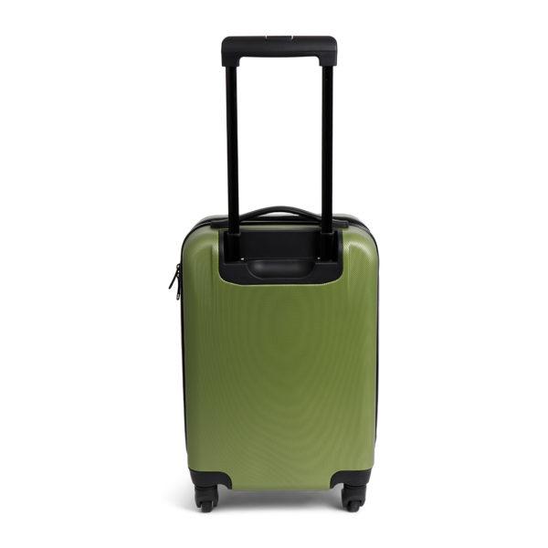 Handbagage koffer groen gerecycled en duurzaam relatiegeschenk