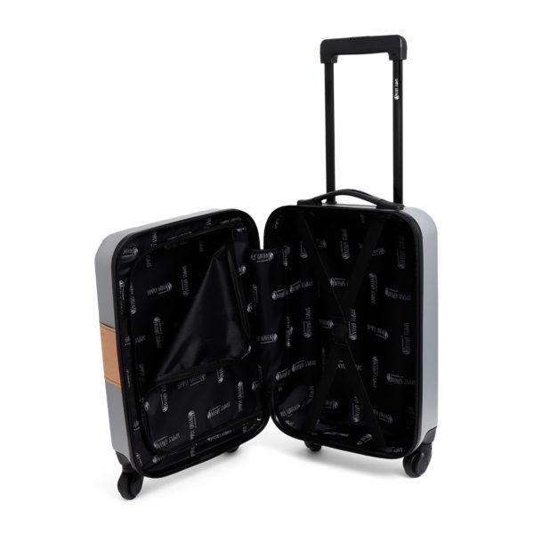 Handbagage koffer binnenkant duurzaam relatiegeschenk