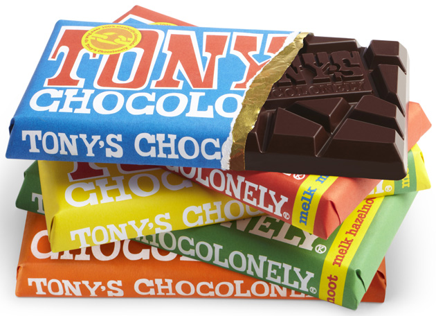 selecie tony chocolonely fairtrade chocola