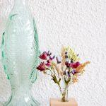 Sfeerfoto boeketje droogbloemen duurzaam relatiegeschenk