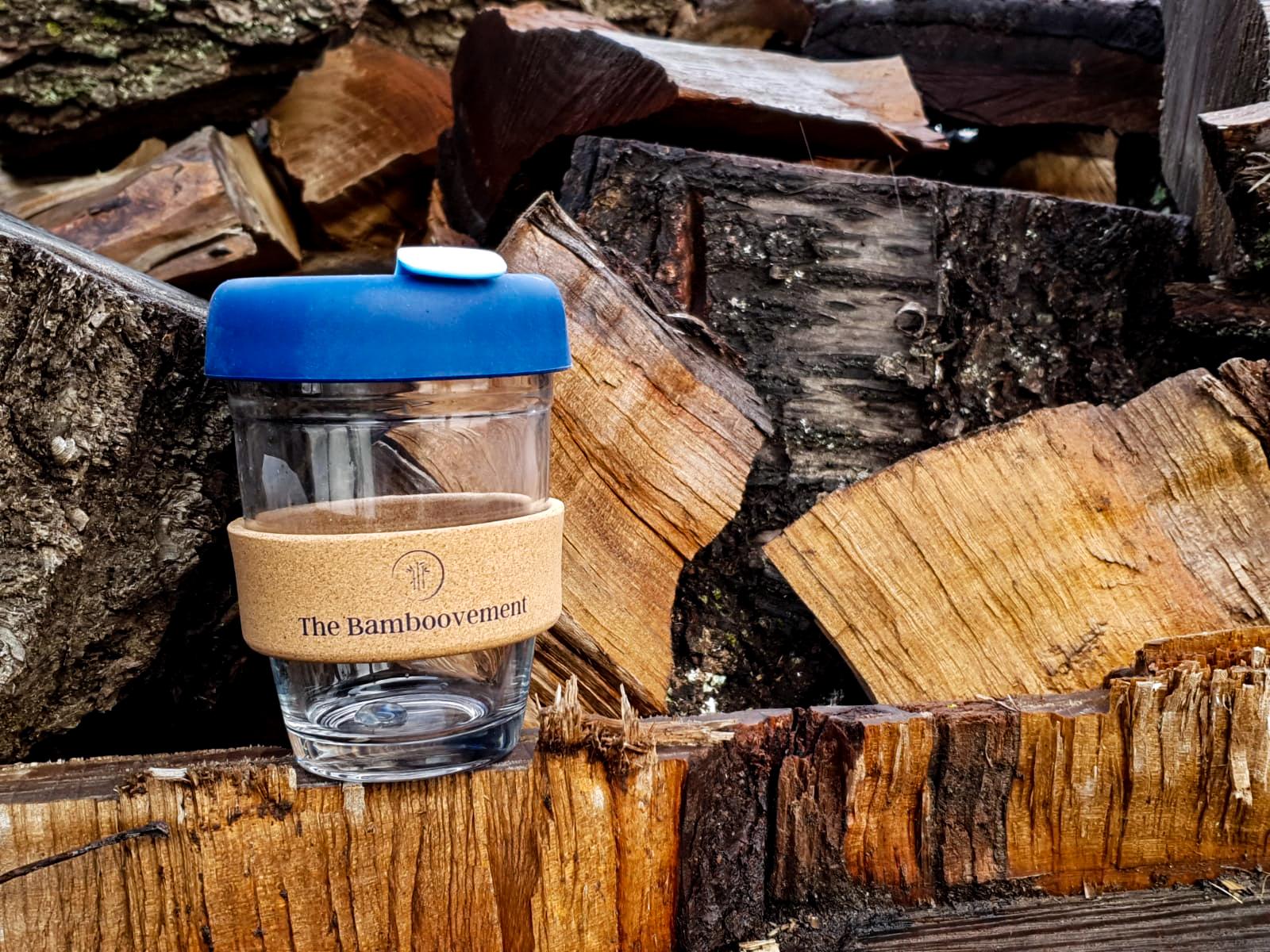 herbruikbare koffiebeker onderdeel van duurzaam cadeaupakket