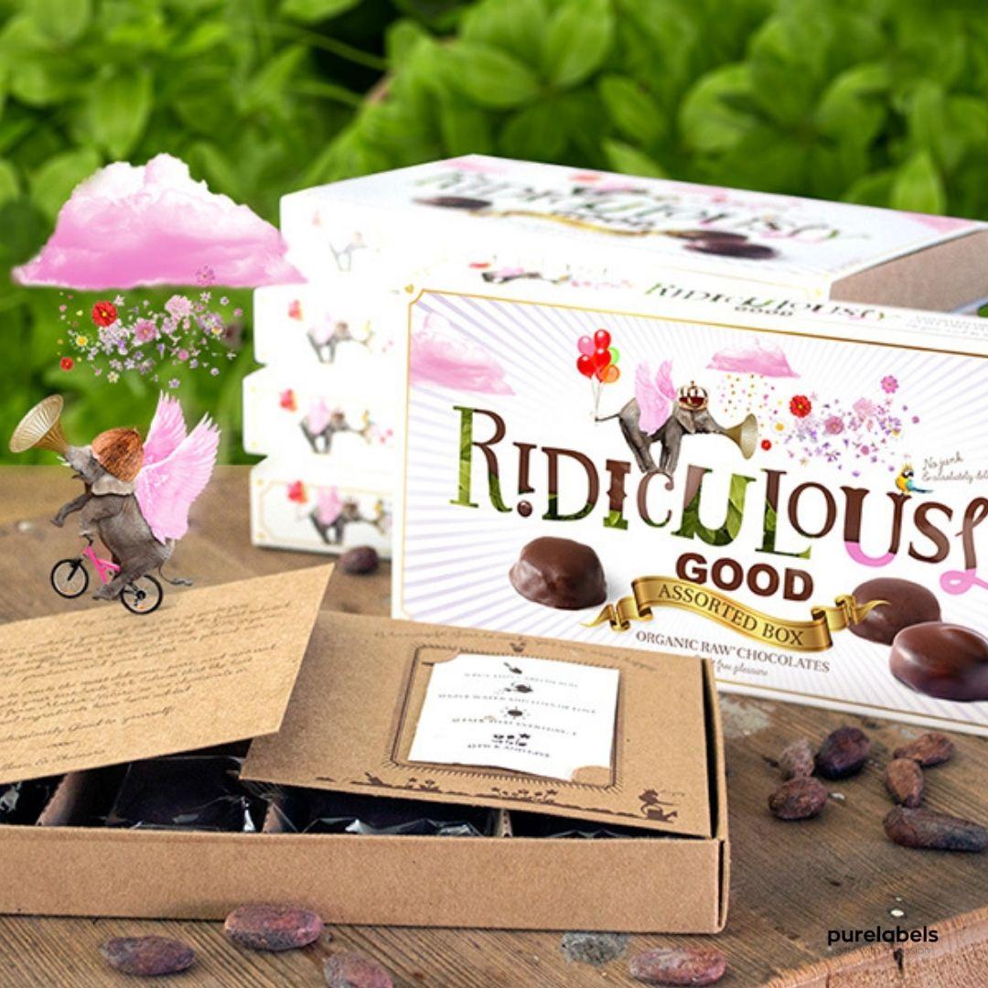 Cadeaudoos duurzame chocola uit keuzecadeau uit je eigen giftshop