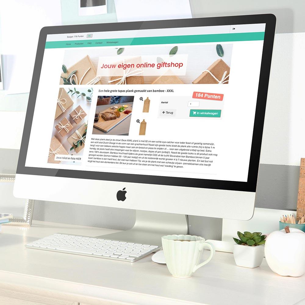 productpagina giftshop